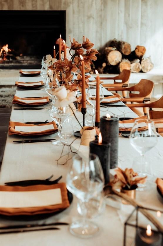 rust coloured wedding decor nz