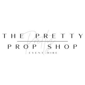 the pretty prop shop event hire logo