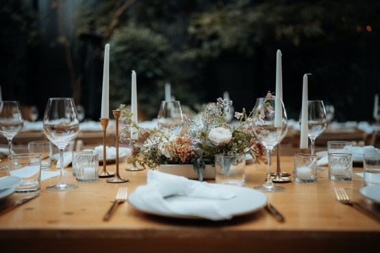 wedding tablescape hire auckland nz