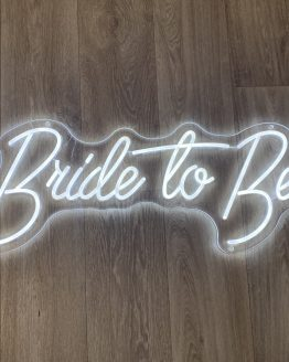 bride to be hens neon sign hire auckland nz