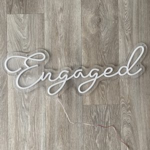 engagement party neon sign hire nz