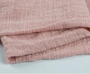 dusky pink cheesecloth gauze runner hire nz