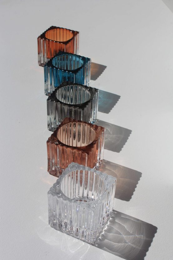Ribbed Tealight Holder Hire Auckland NZ