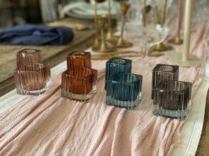coloured tealight holder hire auckland nz