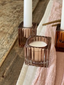 Champagne coloured tealight holder hire auckland nz