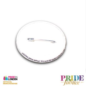 Pride In London LDN Pansexual Button Badge