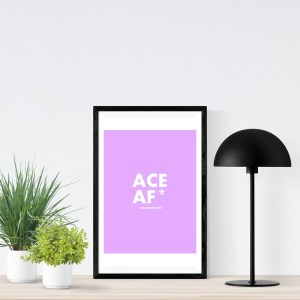 ACE AF (asexual) A2 Poster