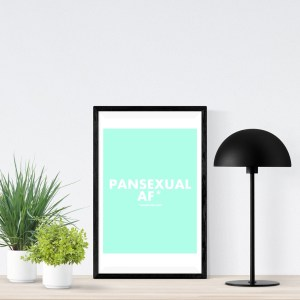PANSEXUAL AF A2 Poster