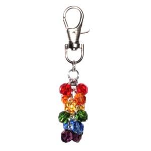 Rainbow Bag Charm