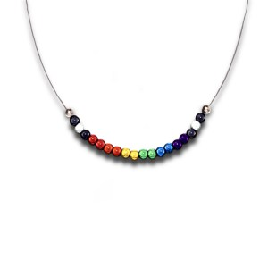 straight ally necklace