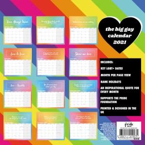 The Big Gay Calendar 2021