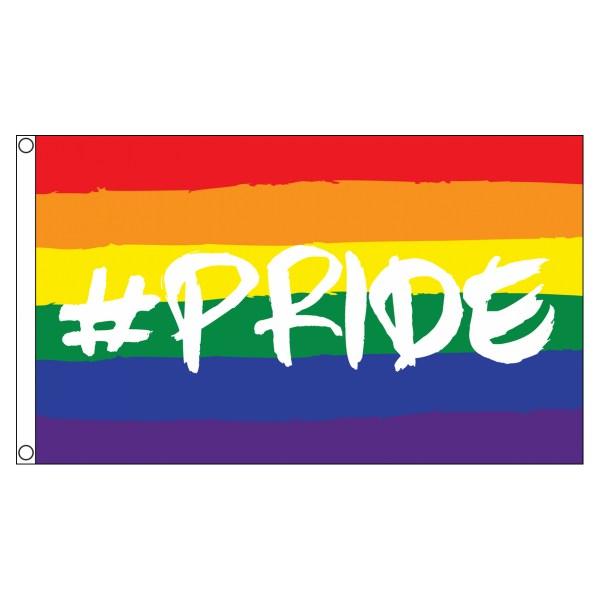 buy #PRIDE Rainbow lgbt pride 5' flag online