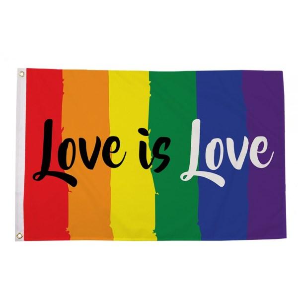 buy love is love lgbt pride 5' flag online
