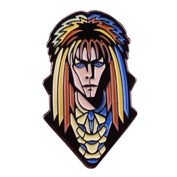 labyrinth David bowie goblin king pin badge