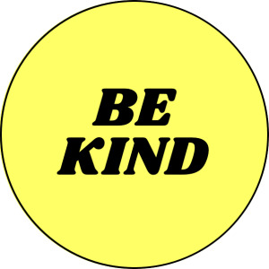 Be Kind Pin Badge for sale