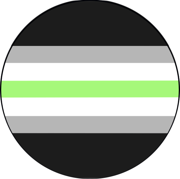 Agender Flag Pin Badge For Sale