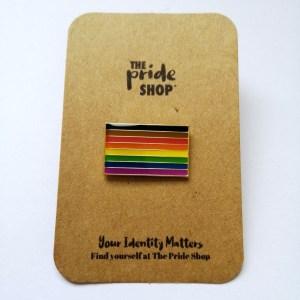 BAME Flag Pin Badge