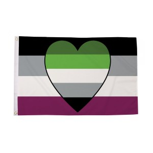 Asexual Aromantic Pride Flag