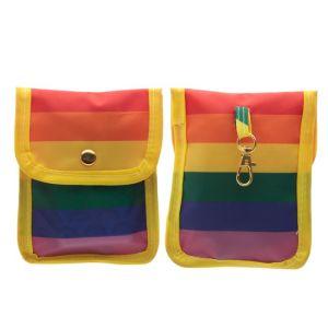 rainbow pouch pride bag