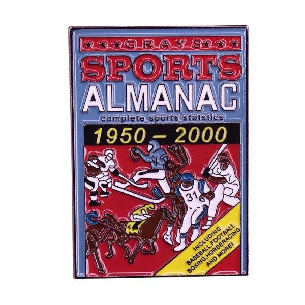 Back To The Future Sports Almanac Pin Badge