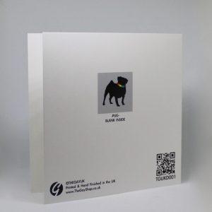 Gay Pug Card
