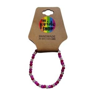 Lesbian Crackle Bead Bracelet