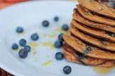Paleo Pancakes (Carrot, Blueberry, Lemon) www.ThePrimalDesire.com