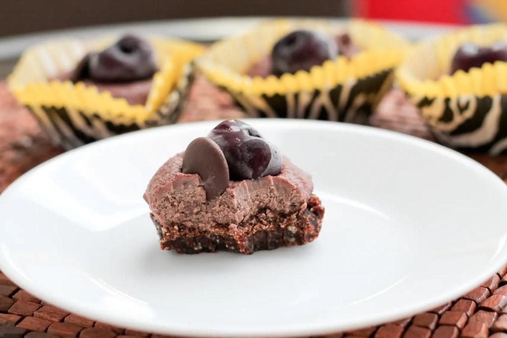 Paleo Cherry Chocolate Cheesecake - www.ThePrimalDesire.com