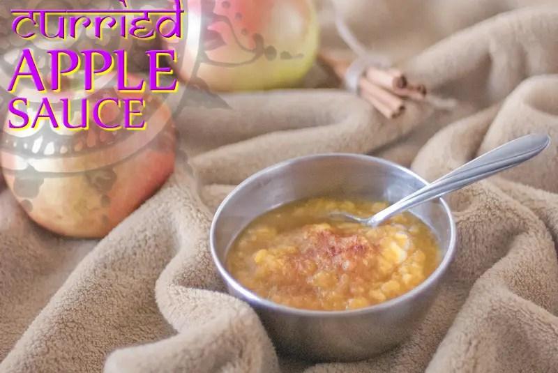 Curried Apple Sauce