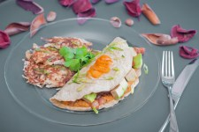 Mashed Yam Omelette - www.ThePrimalDesire.com