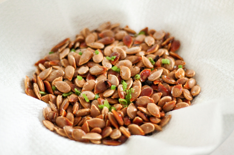 Bacon Chive Pumpkin Seeds