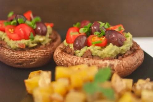 Portobello Mushroom Paleo Taco - www.ThePrimalDesire.com