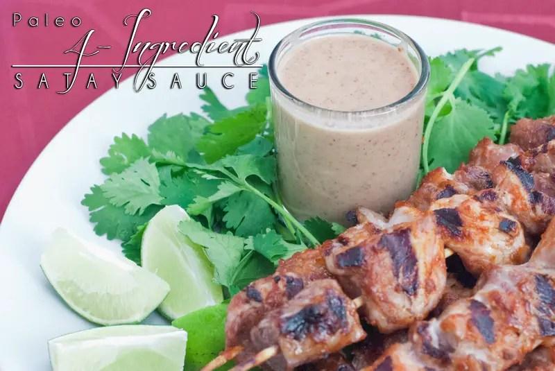 4-Ingredient Paleo Satay Sauce, a.k.a. Devi's Magic Sauce