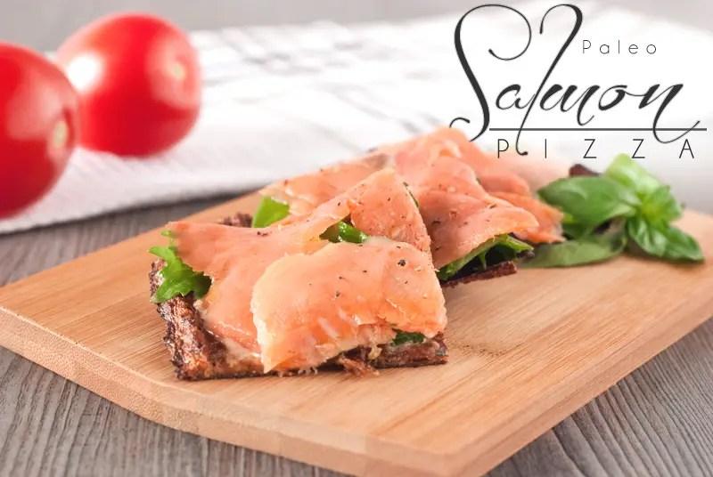Incredible Salmon Lox Paleo Pizza
