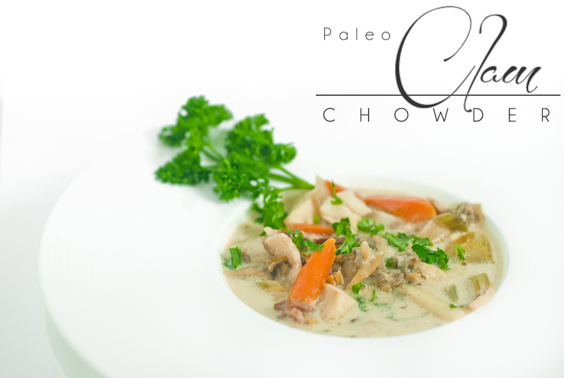 New England Paleo Clam Chowder