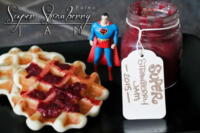 Super Paleo Strawberry Jam