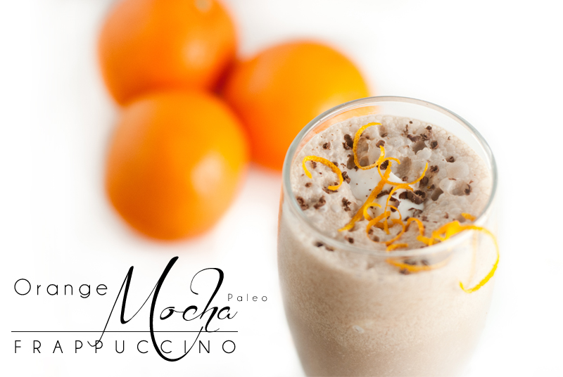Zoolander Paleo Orange Mocha Frappuccino