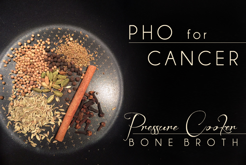 Pho for Cancer – Pressure Cooker Bone Broth