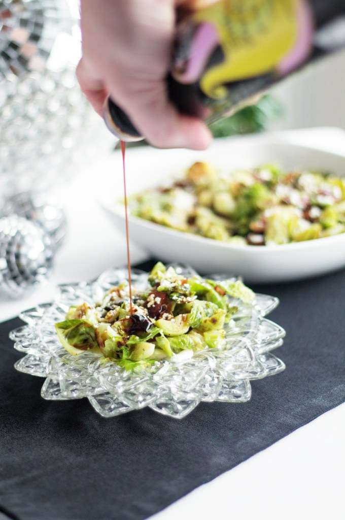A crazy good holiday dish that is simple and easy to make. Instant pot holiday brussels sprouts come together quick and free-up a stovetop burner! - http://www.theprimaldesire.com/instant-pot-holiday-brussels-sprouts/