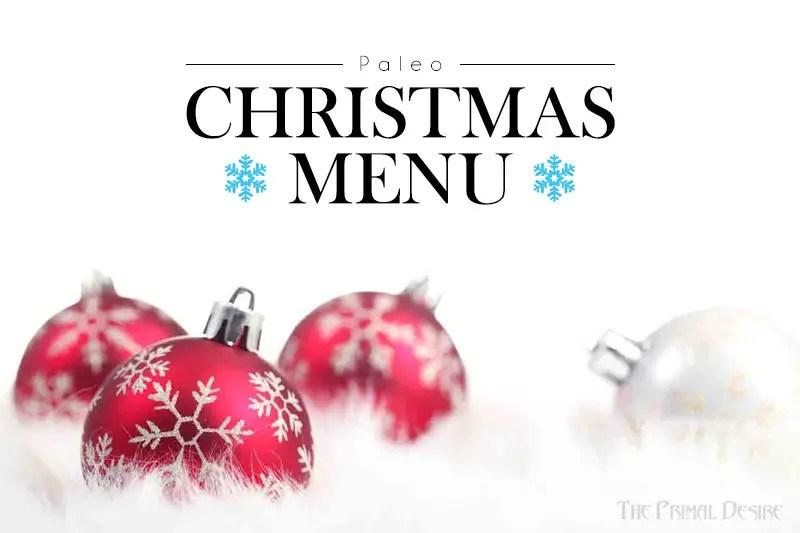 Paleo Christmas Menu Ideas