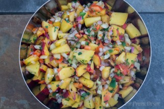 Nectarine salsa is great on fish tacos, grilled chicken or straight-up on chips. It's quick & easy! wp.me/p4Aygm-2Ji