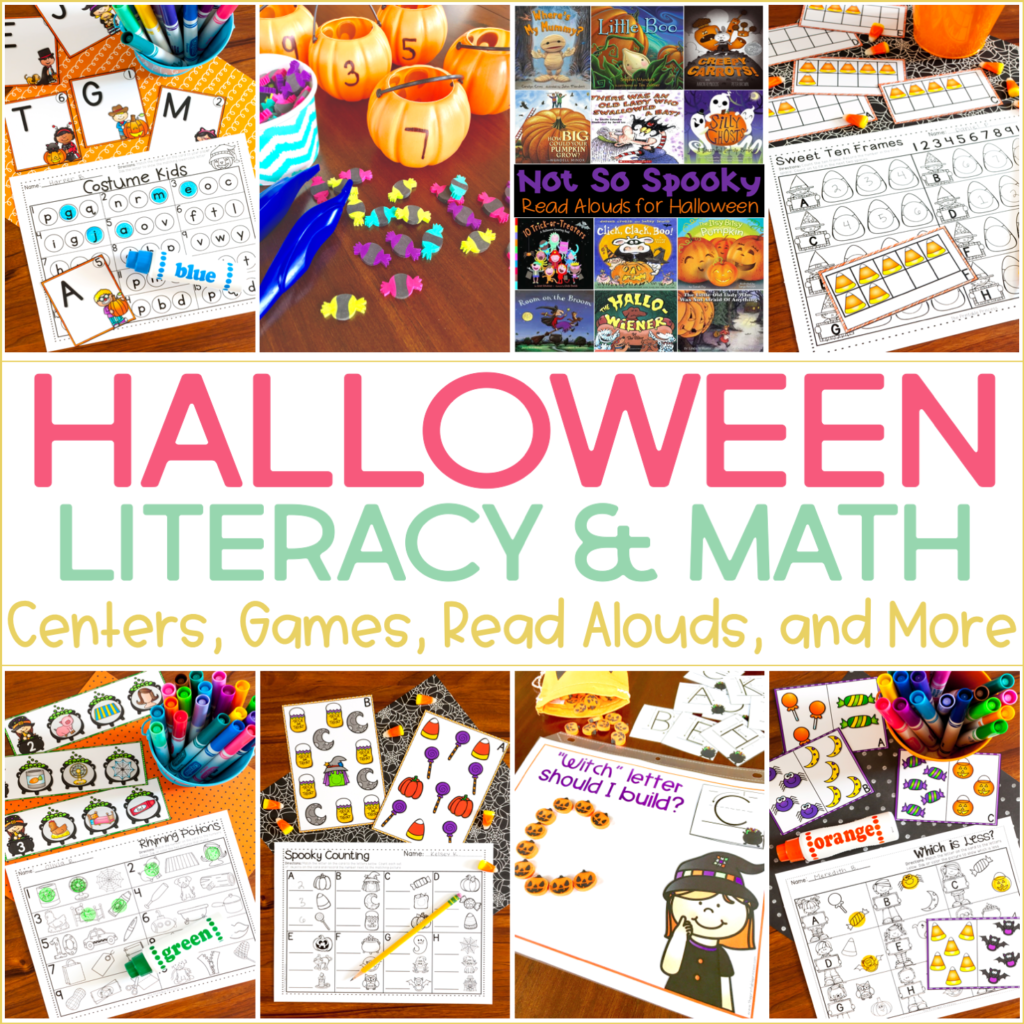 Halloween Activities For Kindergarten With Freebies