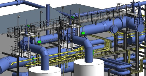 small resolution of power plant piping layout