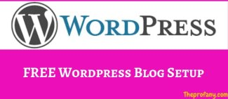 Free WordPress Blog Setup & Free Apple Macbook