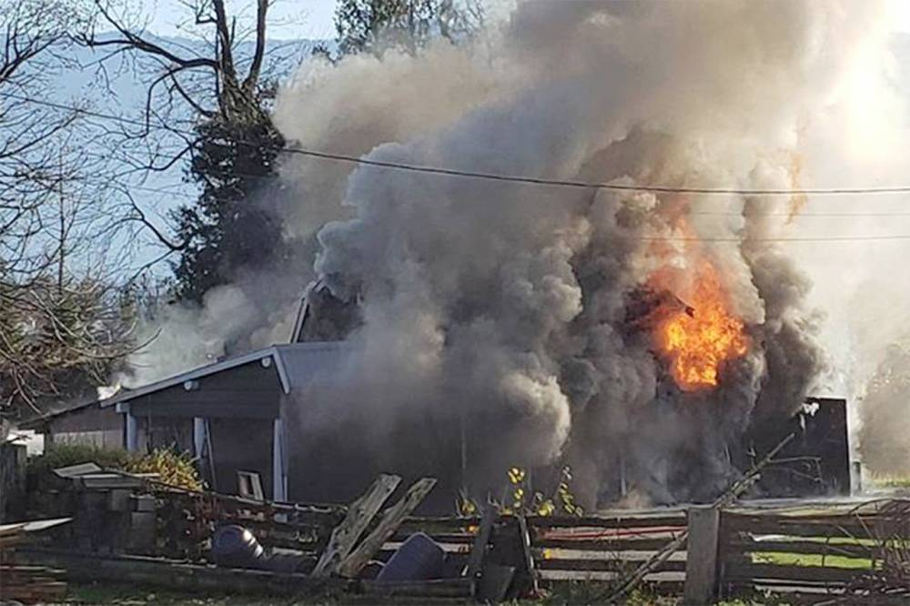 medium resolution of faulty wiring blamed for chilliwack barn fire sunday morning