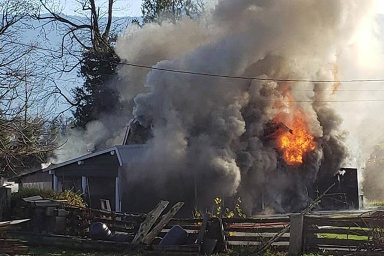 hight resolution of faulty wiring blamed for chilliwack barn fire sunday morning