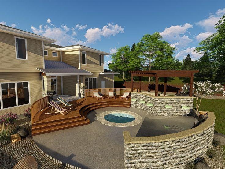 deck plans circular deck plan patio