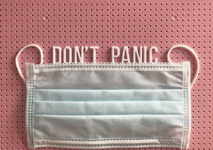 Don't Panic - Face Mask