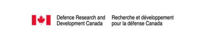 Defence Research and Development Canada/Recherche et dévelppement pour la défense Canada