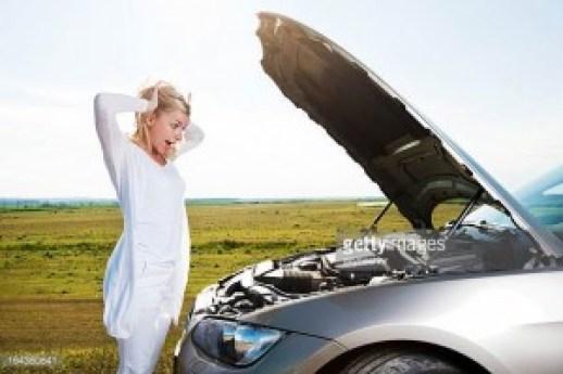 car broke down